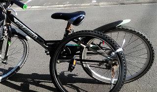 自転車タイヤの交換で命を乗せるDIY